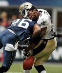 NFL collision