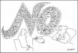 Saul Steinberg's No