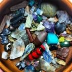 bowl of gems