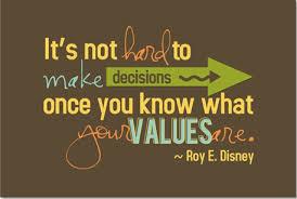 Disney on Values